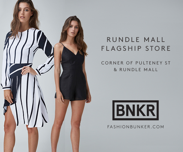 Fashion Bunker. Rundle Mall Flagship store.